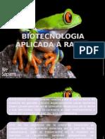 Biotecnologia Aplicada a Ranas