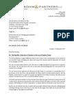 2015 09 16 A&P to Fischer