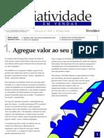Criatividade Em Vendas - Agregue Valor Ao Seu Produto - Www.editoraquantum.com.Br