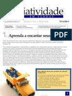 Criatividade Em Vendas - Aprenda a Encantar Seus Clientes - Www.editoraquantum.com.Br