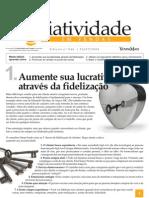 Criatividade em Vendas - Aumente sua lucartividade através da fidelização - www.editoraquantum.com.br