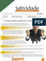 Criatividade Em Vendas - Como Lidar Com Um Cliente Insatisfeito - Www.editoraquantum.com.Br