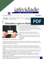 Criatividade Em Vendas - Descubra o Que Os Clientes Querem - Www.editoraquantum.com.Br