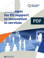 Challenges for EU support to innovation in services