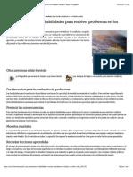 La importancia de las habilidades para resolver problemas en los estudios sociales | eHow en Español