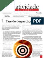 Criatividade em Vendas - Pare de disperdiçar idéias - www.editoraquantum.com.br