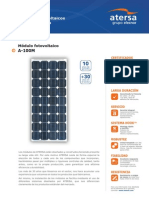 Calculationsolar Module ATERSA A100M343