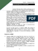 06 Cap 1 Managementul Calitatii