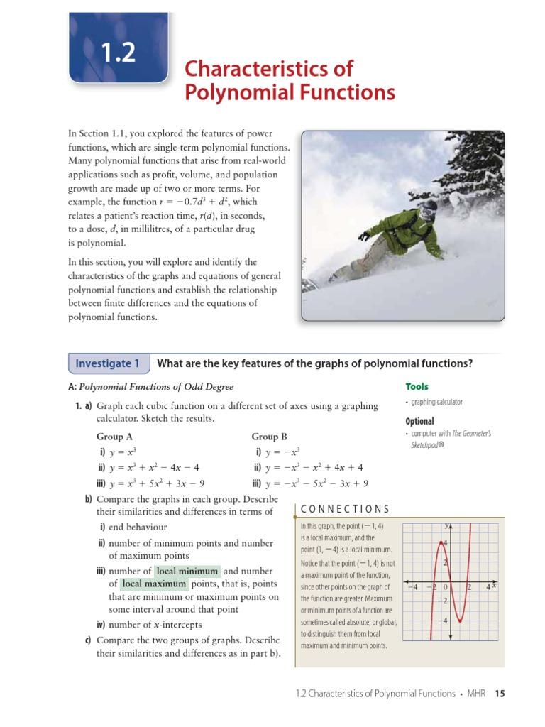 mhr advanced functions 12 zero of a function polynomial rh ja scribd com