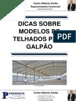 Dicas sobre Modelos de Telhados para Galpão