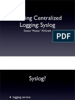 Building Centralized Logging