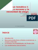 Elecciony La Escasez