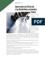 Portal Asegura Que Un Ovni Se Estrelló en La Antátida y Muestra Fotos Septiembre 18-09-2015