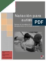 Trabajo de Investigación - Natación Para Autistas