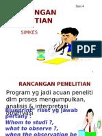 Rancangaan Penelitian Simkes - Atik Mawarni