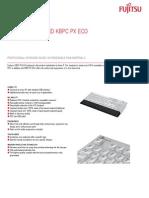 Datasheet Fujitsu Keyboard KbPC PX eCo