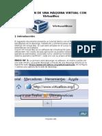 Instalaciòn de Una Màquina Virtual Con Virtualbox