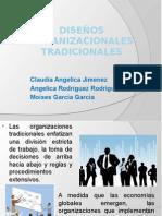 DISEÑOS-ORGANIZACIONALES-TRADICIONALES