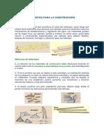 Materiales Basicos Para La Construcción