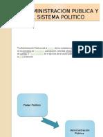 La Administracion Publica y El Sistema Politico