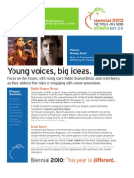 Biennial 2010 Newsletter #2