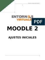 Ajustes Iniciales Moodle 2