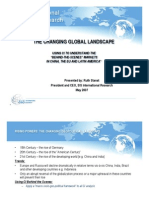 The Changing Global Landscape - SIS International Research