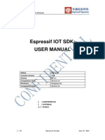 ESP8266 IoT SDK User Manual v0.8