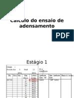 Aula 14 09 15 Laboratório - Cálculo Do Ensaio