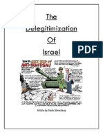 The Delegitimization of Israel