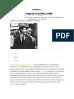 Consejo a Un Joven Poeta, De Max Jacob