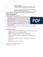 11. Obsolete , Surplus & Scrap Management