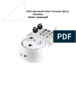 Traducir 3 in 1 Diamond Microdermabrasion -- Vacuum Spray Machine