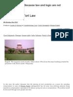 Constitutional Tort Law