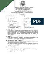 Fisicoquimica Plan 2003, Prof. j. Huapaya