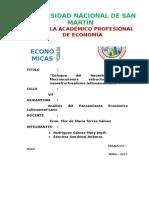 14. Enfoque Neoestructuralista, Macroeconomía Estructuralista y Neoestructuralismo Latinoamericano.