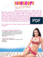 Avon Fashions Summer Collection 2010 Product Sheets FINAL