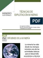 Tecnicas de Explotacion Minera