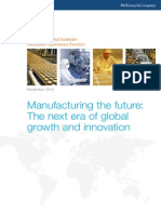 Manufacturing the Future Mckinsey