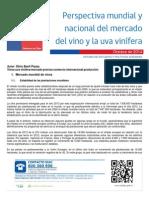 Perspectiva Mundial y Nacional Del Vino Chileno, con sus respectivo estudio y analisis nive pais