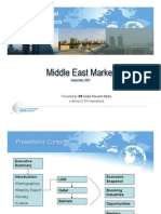 The Middle East Market - SIS International Research