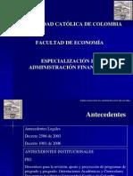 Presentacion Administracion Financiera Feb 2012