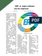 Sistema ERP El Mejor Software Para Las Empresas