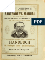1882 Harry Johnson's New and Improved Bartender's Manual