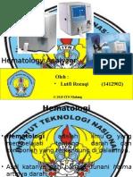 Presentasi Hematology Analyzer