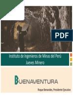 60 Años de Empresa Minera Buenaventura