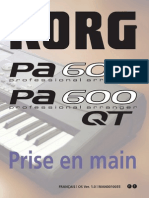 Pa600 Quick Guide v100 (French)