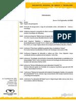 Programa congreso  2015