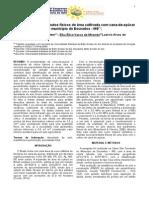 Identificação dos atributos físicos de uma área cultivada com cana-de-açúcar no munícipio de Dourados - MS