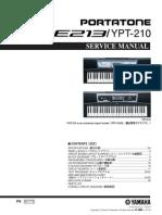 Yamaha_psr-e213 (Diagrama de Circuito)